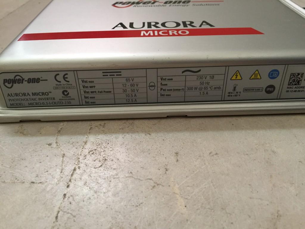 micro inverter aurora
