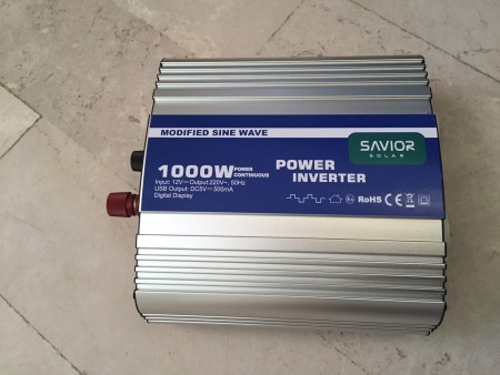 Savior 1000 Watt M.S. Inverter