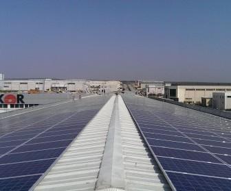 alkor alüminyum güneş enerjisi santrali