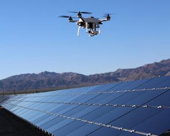 dron solar farm