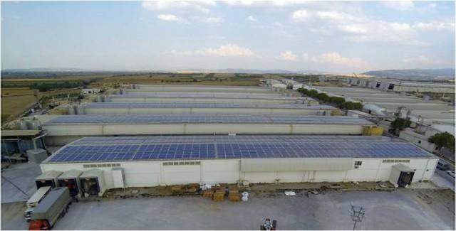güres tavukçuluk güneş santrali
