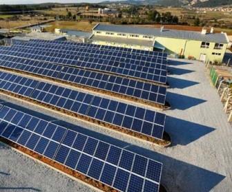 muğla belediyesi mezbahane güneş enerjisi santrali