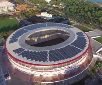 antalya arena güneş enerjisi santrali
