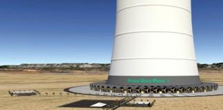 güneş ve rüzgar bacası ile elektrik üretimi