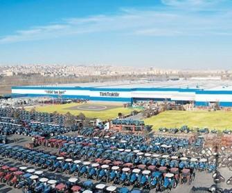 türk traktör güneş enerjisi santrali