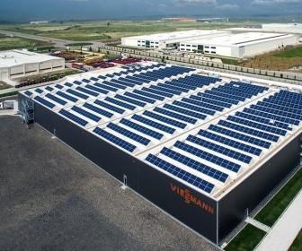 viessmann güneş enerjisi santrali