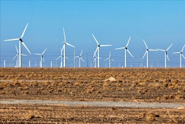 Gansu Rüzgar Santrali
