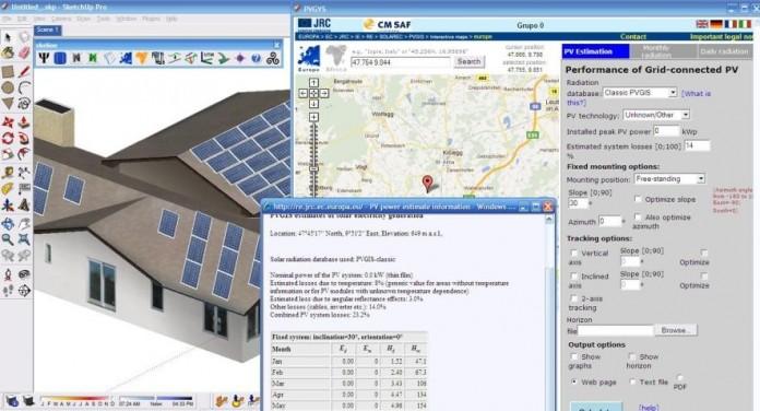 güneş enerjisi simülasyon