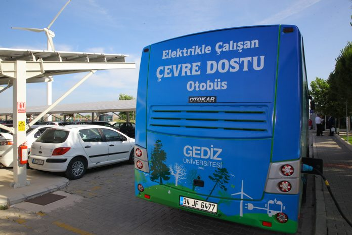 çevreci otobüs gediz