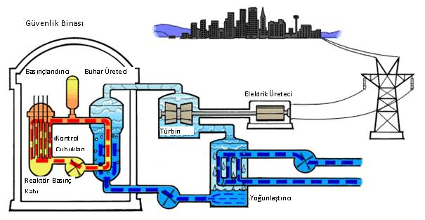 Basınçlı Su Reaktörü (PWR)
