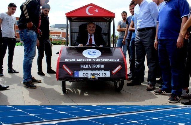 Mek13 Güneş Enerjili Engelli Aracı
