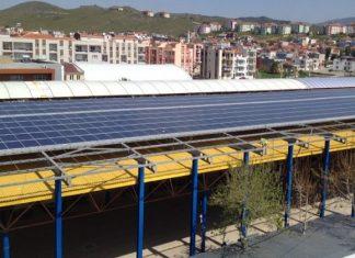 Sakin şehir güneş enerjisi