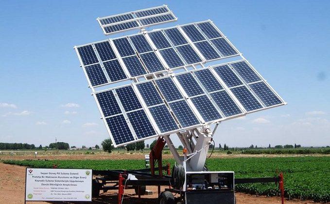 mobil güneş enerjisi