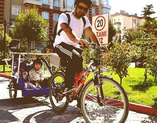 güneş enerjili bisiklet