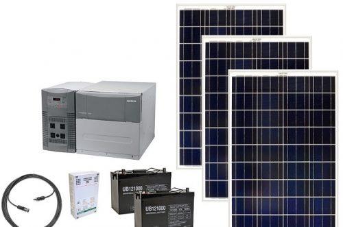 Evler için paket güneş jeneratörü