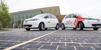 güneş enerjili yol, güneş enerjili otoyol, güneş panelli yol, güneş panelli otoyol, elektrik üreten yol