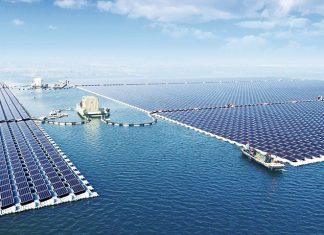 Dünyanın En Büyük Yüzen Güneş Santrali, yüzen güneş santrali, yüzen güneş paneli, yüzen güneş enerjisi, yüzen güneş tarlası