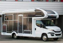 güneş enerjili karavan, güneş panelli karavan, güneş enerjisi ile çalışan karavan, karavan güneş enerjisi