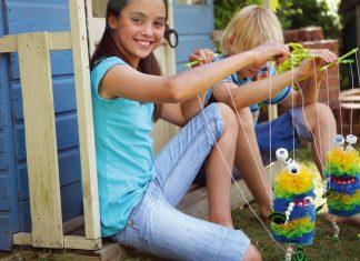 plastic-bag-monster-geri-donusum-oyuncak, geri dönüşüm oyuncakları, green science, green creativity, evde geri dönüşüm, geri dönüşüm projeleri
