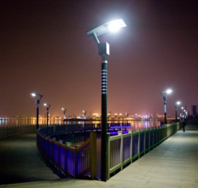 16 Watt Güneş Enerjili Sokak Lambası