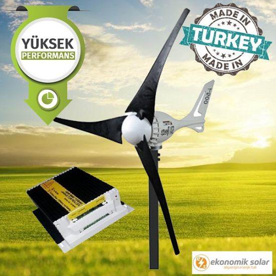 ekonomik solar rüzgar türbini
