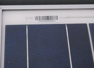 20 watt güneş paneli