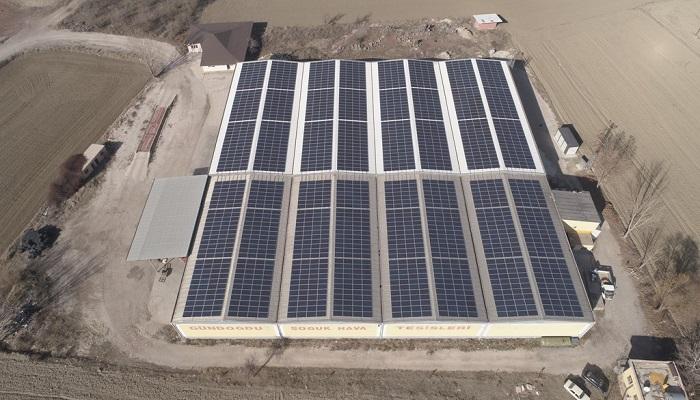 Bucak 549 kWp GES