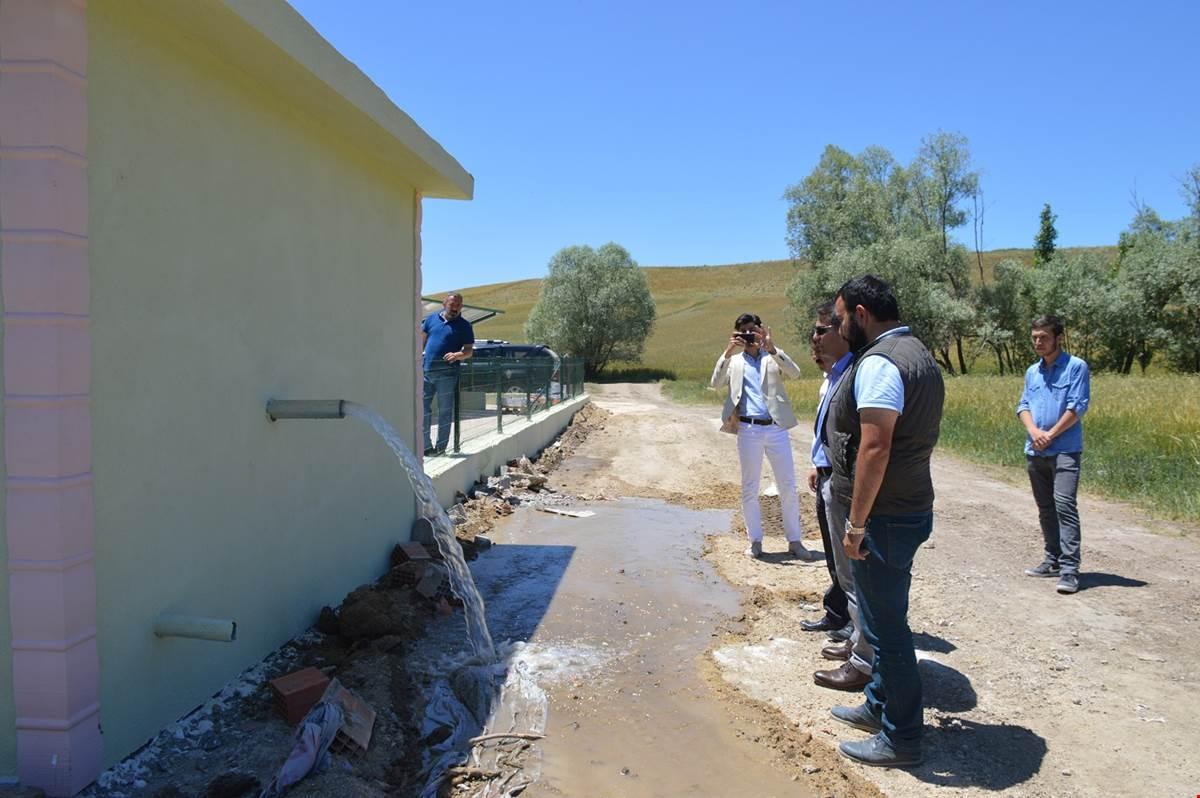 Dişli Köyü solar sulama