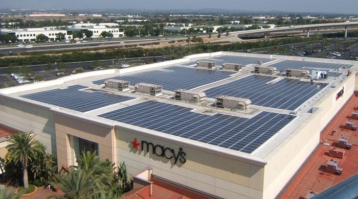 Macy's solar energy