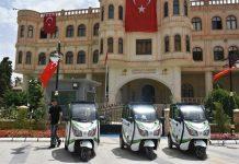 Nusaybin Belediyesi Güneş Enerjili Araç