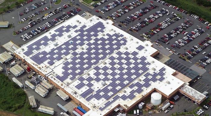 Walmart solar energy