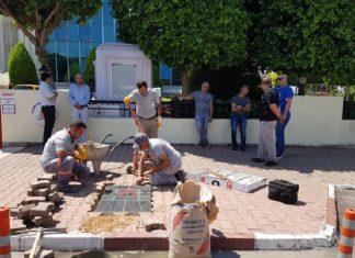 muratpaşa belediyesi güneş enerjili kaldırım taşı