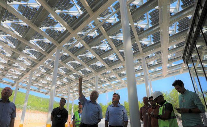 Muğla Büyükşehir Belediyesi Güneş Enerjili Otogar