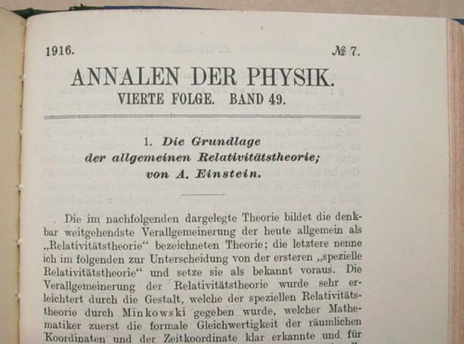 albert einstein annalen der physik